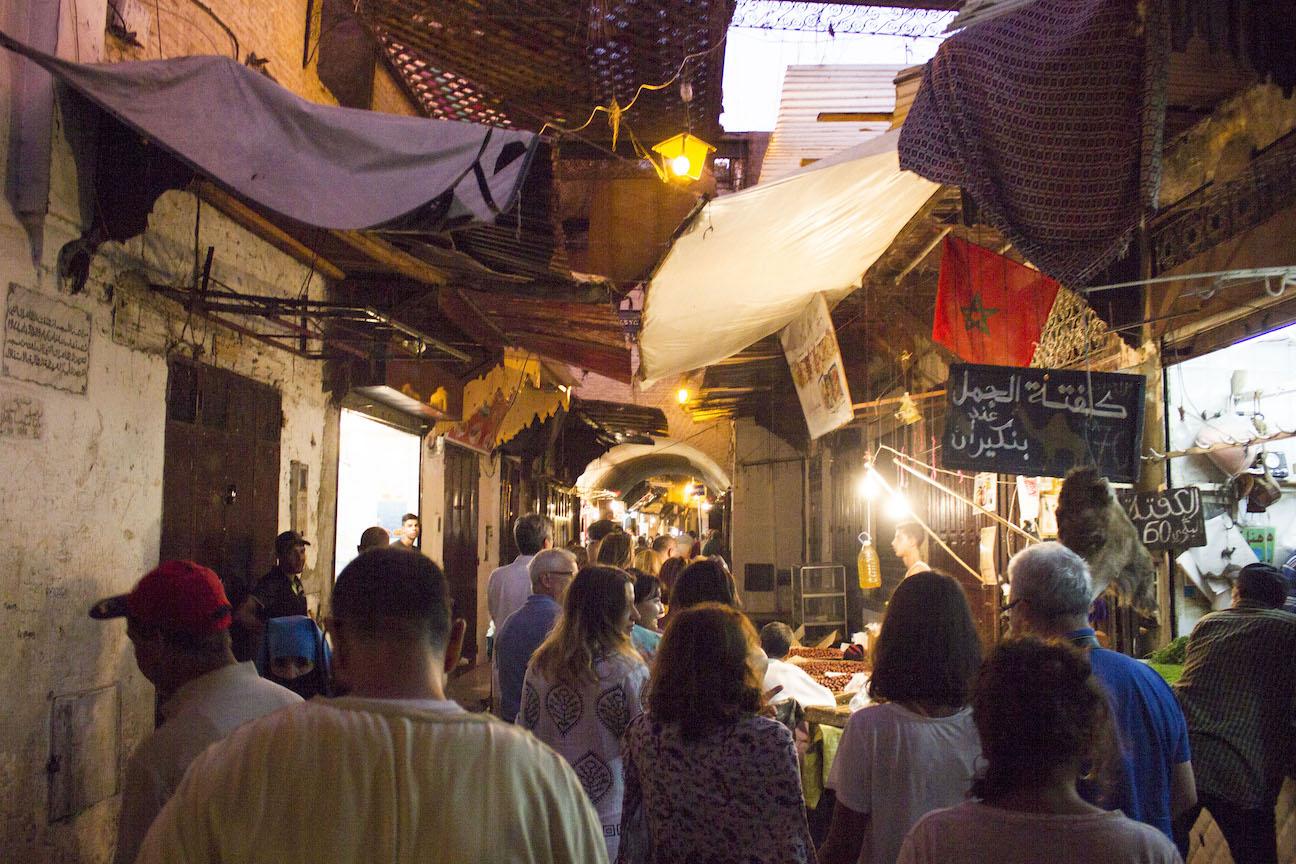 Fez bazaar
